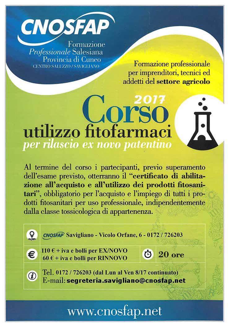 Patentino Fitofarmaci