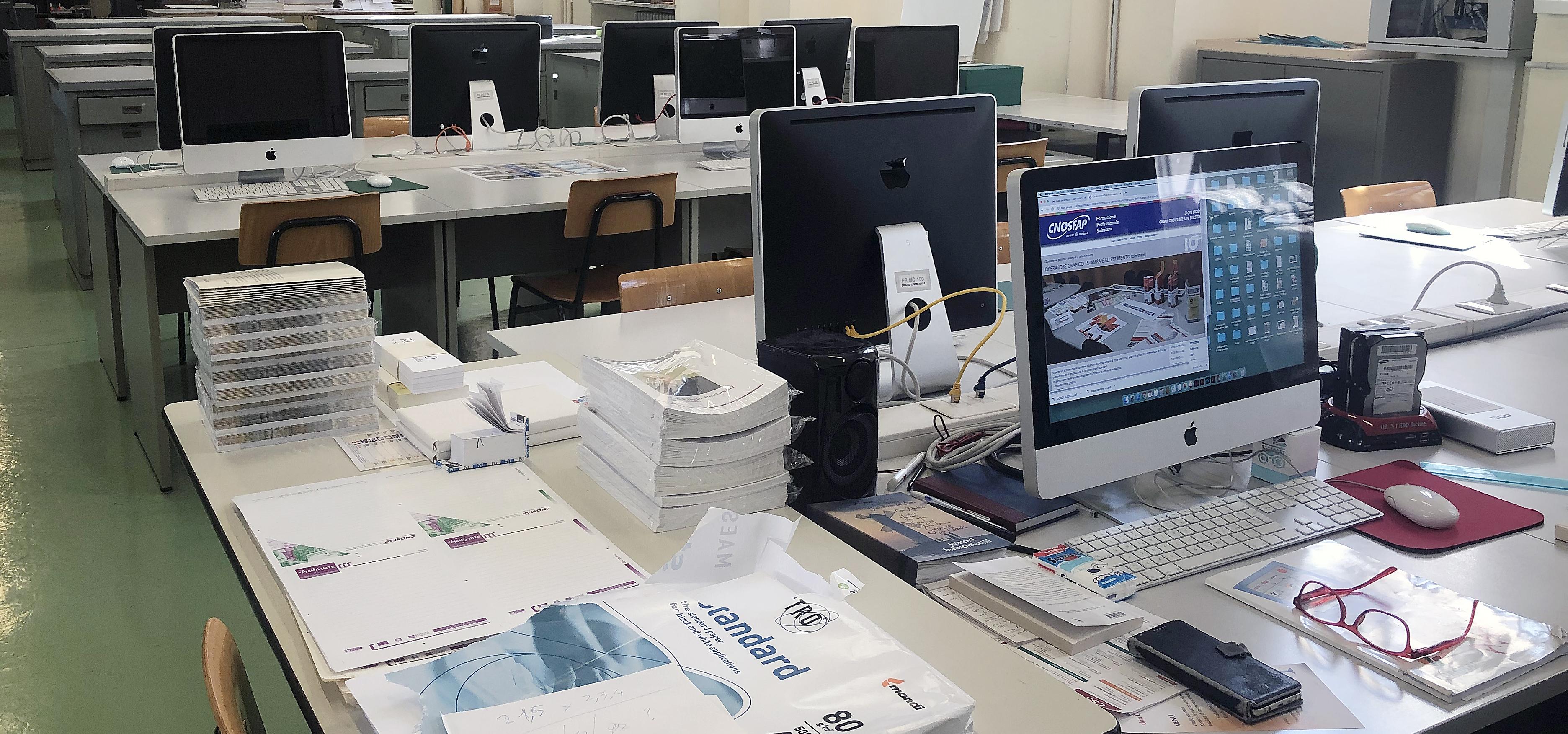 Operatore grafico - stampa e allestimento