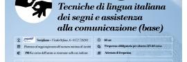 Tecniche di lingua italiana dei segni (LIS Base)