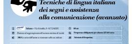 tecniche di lingua italiana dei segni (LIS avanzato)
