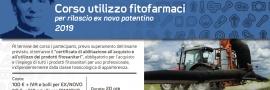 Corso Patentino acquisto e uso fitofarmaci